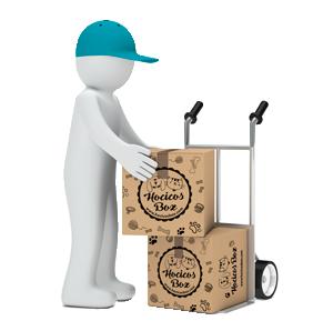 Recibe la caja con envío gratis en tu casa