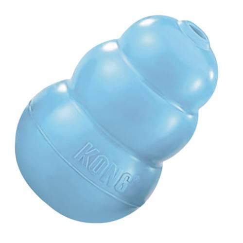 kong-puppy-juguete-cachorros azul