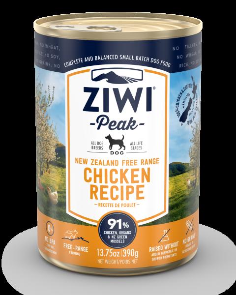 ZiiwiPeak Chicken Dog 390 gr